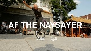 AF THE NAYSAYER - R-96 feat. Shizuku Kawahara of tinörks (Official Teaser)