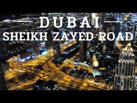 [4K] Dubai Night Drive in Downtown – Sheikh Zayed Road – April 2019 UAE