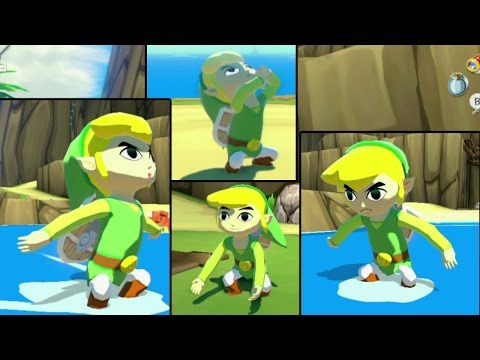 Wind Waker HD Hacks - Link has forgotten how to sit down