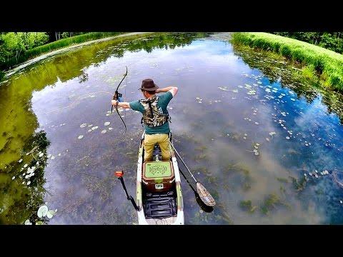 Tidbits: Kayak Bowfishing - Gear Setup and Carp Bowfishing on Lake Champlain