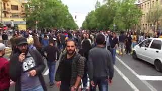 Ակցիայի մասնակիցները բացում են փողոցները