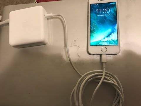 Did it - IPhone7 Plus Fast Charge with MacBook Pro USBC Charger