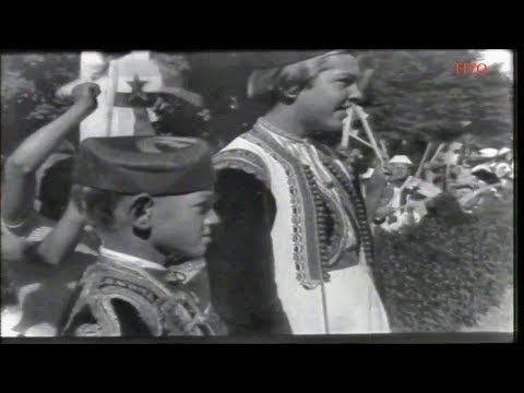 Josip Broz TITO obilazi voljenu Crnu Goru / Crna Gora 1959
