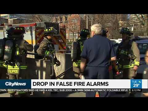 Service fees contribute to reduction in false fire alarm calls