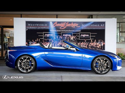 The First Production 2021 Lexus LC Convertible | Lexus