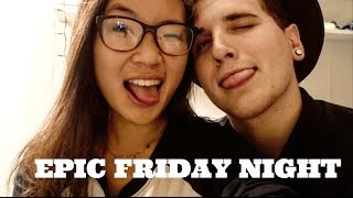 EPIC FRIDAY NIGHT WITH ERIC BECKERMAN | VLOG