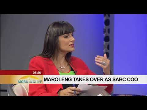 Maroleng takes over as SABC COO Part One