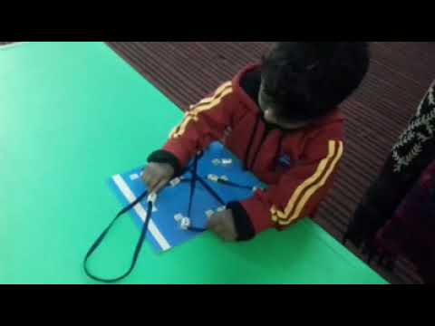 Creative activities at Step One School, Alwar