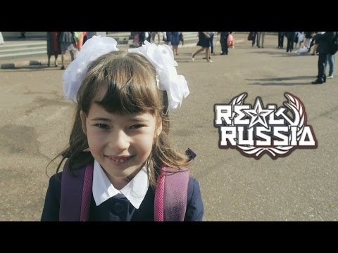 "1st of September - The First Day Of School. ""Real Russia"" ep.84"
