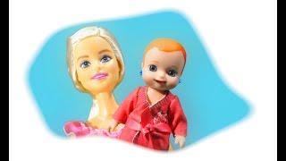 Мультик Барби Мама и Люси: Разгадка тайны исчезновения семьи Играем в куклы игрушки Barbie doll toys