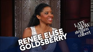 Renée Elise Goldsberry Gets Cornered By Kids Who Memorized
