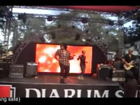 ROCKER KASARUNG live @ BIKEROCKESTRA, Bandung 2013
