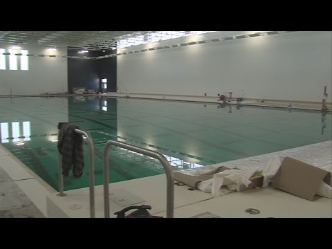 """""""It's a show-piece for this part of the state."""" Aquatic Center to open soon"""