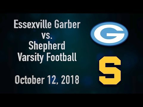 BCTV Sports - Essexville Garber vs. Shepherd Varsity Football (October 12, 2018)
