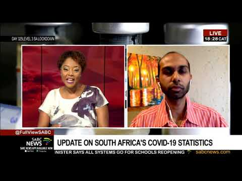 UPDATE: South Africa's COVID-19 Statistics With Dr Ridhwaan Suliman