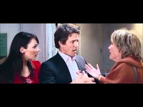 Love Actually - Hugh Grant Emma Thompson brother/sister moment
