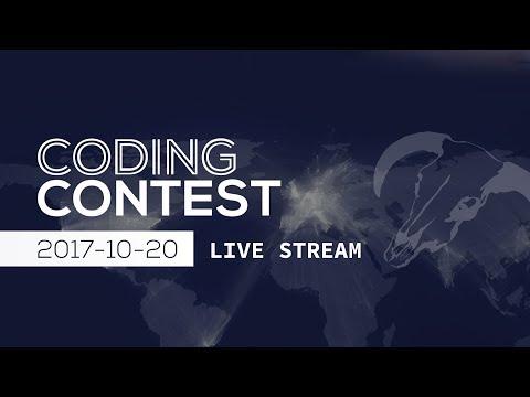 Coding Contest 2017-10-20 - Ceremony Live in Linz, Austria