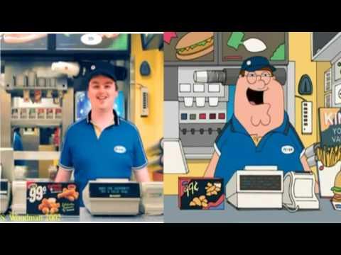 Family Guy + I work at Burger King MASHUP