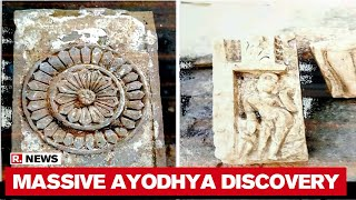 Ayodhya: Temple Remains Found At Ram Mandir Construction Site During Excavation