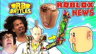 ROBLOX NEWS: Crazy New Catalog Items, Event Updates, No More Skateboards & Developer News