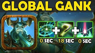 THE KILLER EXTREME!!! Global Ganks [Fast Cooldown spell] Ability Draft Dota 2