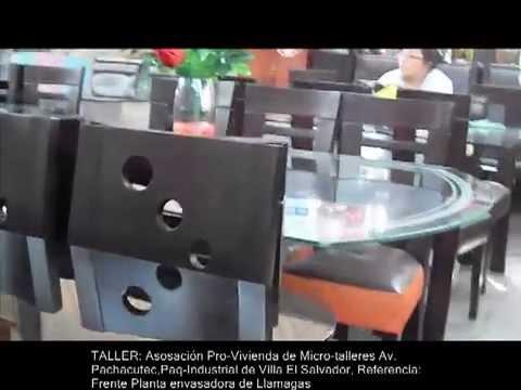 Muebles de hogar youtube for Fabricantes sillas peru