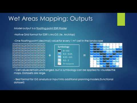 Jae Ogilvie: Output Data Sets for Wet Areas Mapping