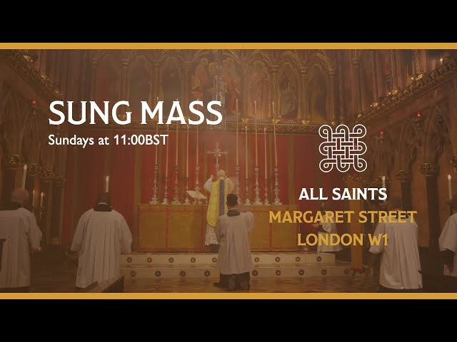 Sung Mass for Easter 3