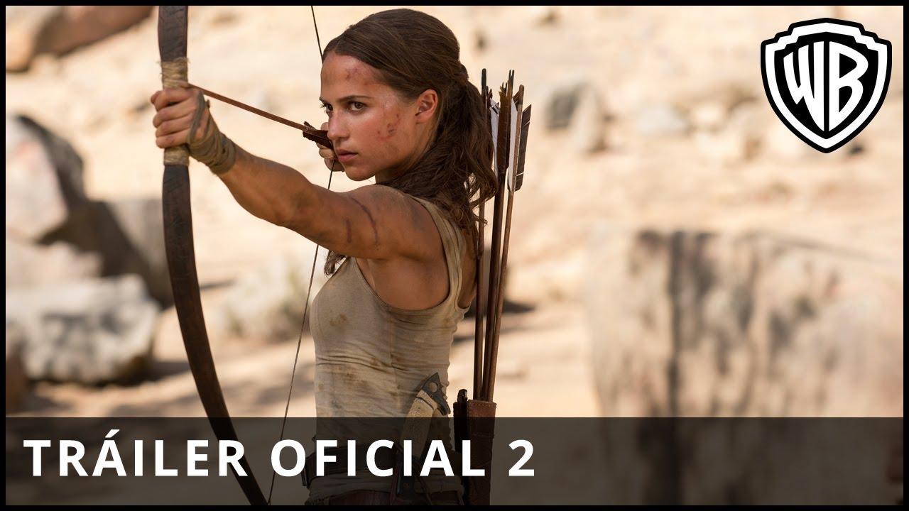 Tomb Raider - Tráiler Oficial 2 - Castellano HD