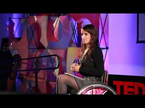 Face it. Embrace it. Defy it. Conquer it: Victoria Arlen at TEDxAmoskeagMillyard