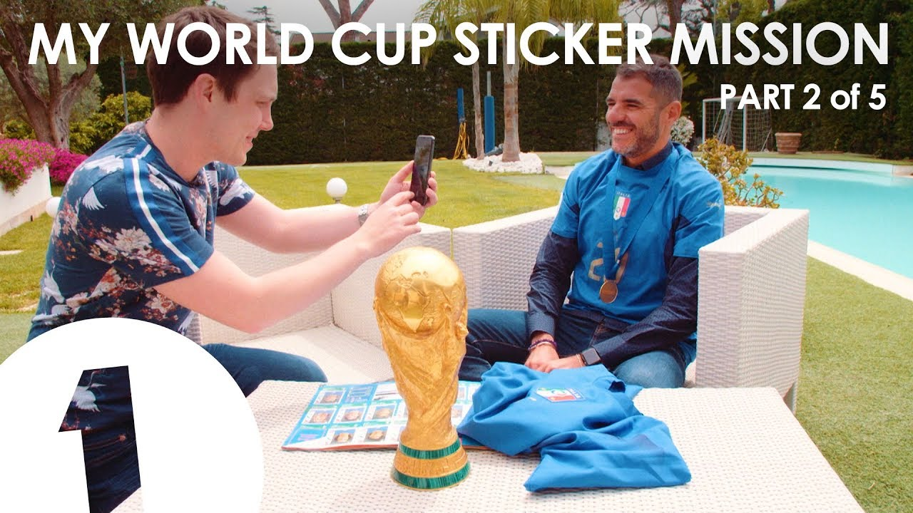 Need: Simone Perrotta - My World Cup Sticker Mission Part 2