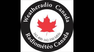 Technical Difficulty Message with Station ID - Weatheradio Canada Montreal