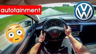 2019 Volkswagen Passat Quick POV Test Drive 0-100 km/h by Autotainment