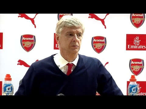 Arsenal 2-2 Manchester City - Arsene Wenger Full Post Match Press Conference