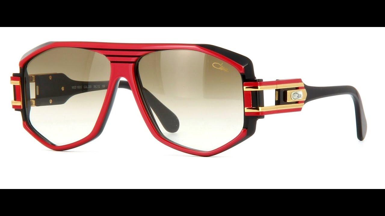 c03c5e1a7cb CAZAL 163 Sunglasses 200 Red Black - YouTube