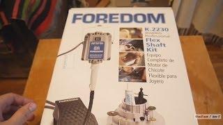 Бормашина FOREDOM SR 2230 оригінал. Розпакування і перші враження.