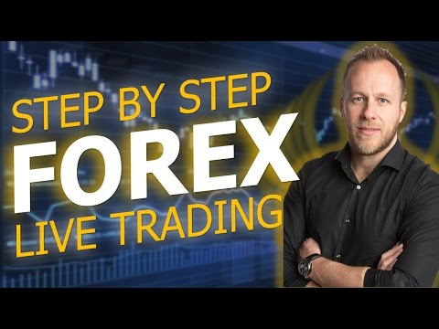 ANYONE CAN TRADE FOREX - STEP BY STEP LIVE TRADING