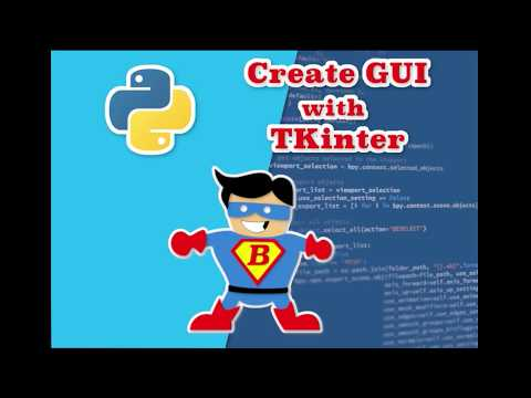Python Tutorial for Beginners with Examples- How to create a user interface thumbnail
