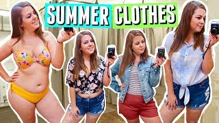Inside the Dressing Room: Summer Outfits Try On 2018!