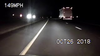 Trooper Hits 149 MPH in High-Speed Pursuit