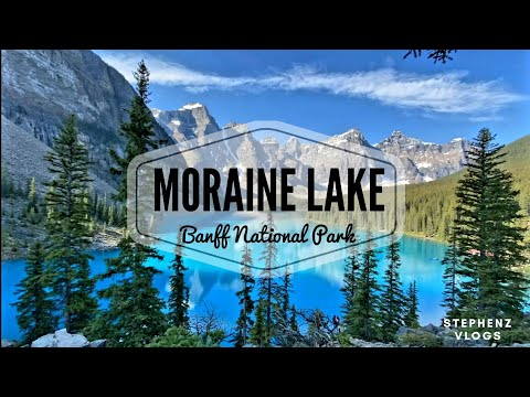 Moraine Lake, Banff National Park | Alberta, Canada | Travel Alberta | #Moraine | StepHenz Vlogs