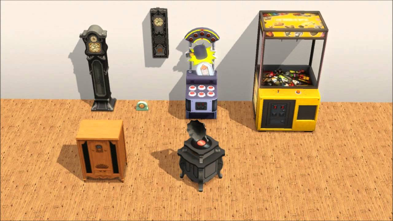 Sims 3 supernatural objects