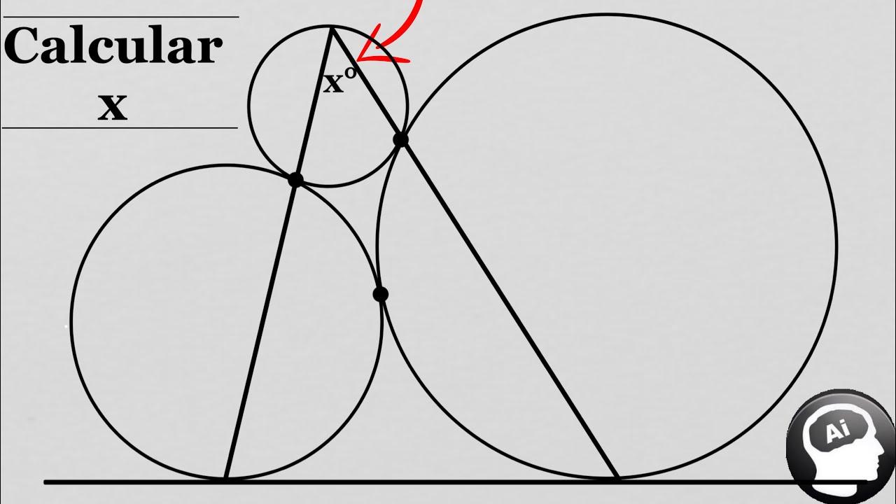 ¿Puedes calcular el valor del angulo x°? | Nivel bachillerato