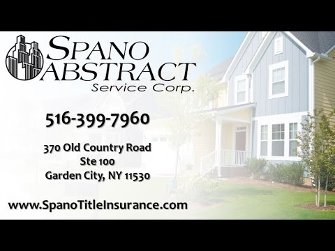 Spano Abstract Service Corp. | Great Neck NY Title Companies