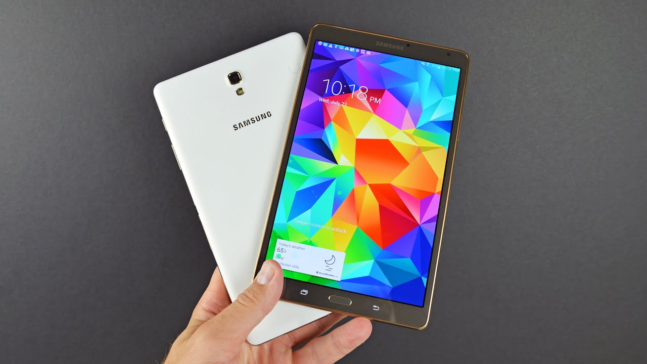 Samsung Galaxy Tab S 8.4quot;: Unboxing amp; Review  YouTube