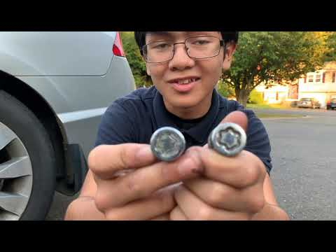 Lost Lug Nuts Key? How To Remove Wheel Locks Without Special Tool | How Does Tire Anti-Theft Work