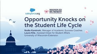 Opportunity Knocks on the Student Life Cycle