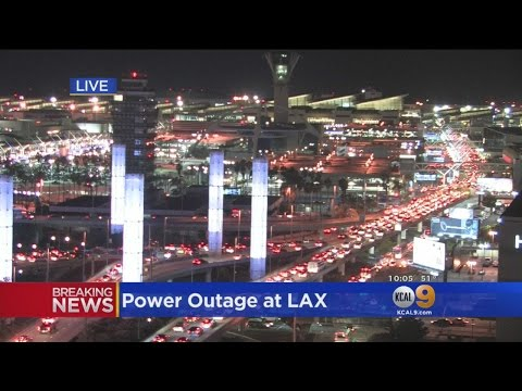 2 Brief Power Outages Hit LAX