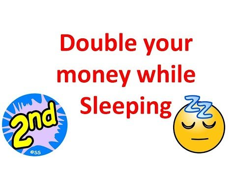 2nd Strategy - How to make money in the night when your sleeping - Make money trading online