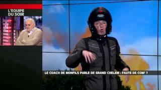 Benoit Maylin - Le coach de Monfils parle de Grand Chelem : faute de com' ?